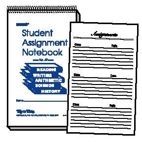 online assignment notebook The assignment notebook is an important organizational tool your child will be expected to record the main assignments for each subject and indicate what homework .