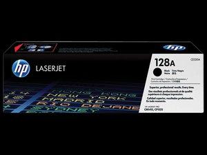 OEM HP 128A Black Laser Cartridge