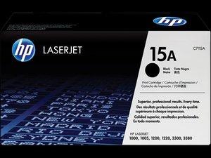 OEM HP 15A Black Laser Cartridge