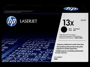 OEM HP 13X Black (High Yield) Laser Cartridge