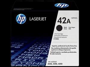 OEM HP 42A Black Laser Cartridge