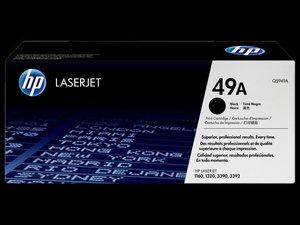 OEM HP 49A Black Laser Cartridge