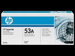OEM HP 53A Black Laser Cartridge