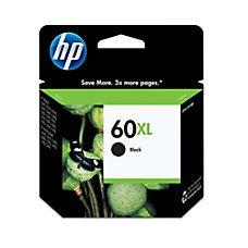 HP 60XL Black (High Yield) Original Ink Cartridge