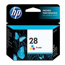 HP 28 Tri-Color Original Ink Cartridge
