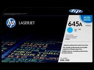 OEM HP 645A Cyan (High Yield) Laser Cartridge