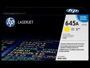 OEM HP 645A Yellow (High Yield) Laser Cartridge