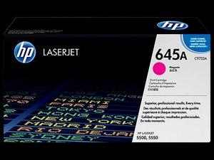 OEM HP 645A Magenta (High Yield) Laser Cartridge