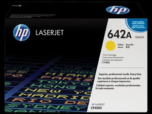 OEM HP CB402A Yellow (High Yield) Laser Cartridge
