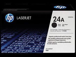 OEM HP 24A Black Laser Cartridge