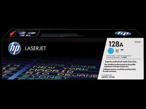 OEM HP 128A Cyan Laser Cartridge