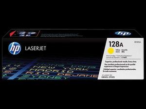 OEM HP 128A Yellow Laser Cartridge