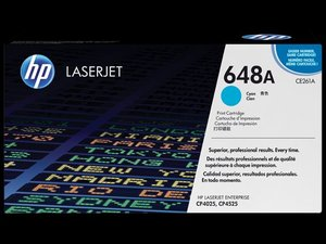 OEM HP 648A Cyan Laser Cartridge