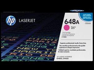 OEM HP 648A Magenta Laser Cartridge