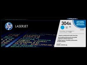 OEM HP 304A Cyan Laser Cartridge