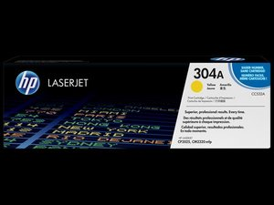 OEM Laser Cartridges - HP #304A- Yellow