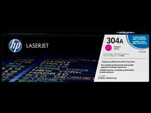 OEM HP 304A Magenta Laser Cartridge