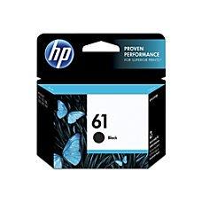 HP 61 Black Original Ink Cartridge