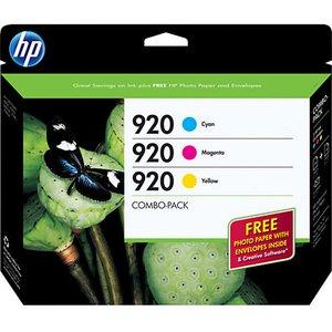 HP 920 Combo Pack Original Ink Cartridges