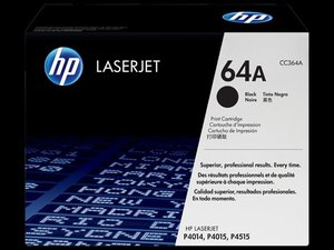 OEM HP 64A Black Laser Cartridge