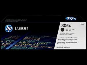 OEM HP 305A Black Laser Cartridge