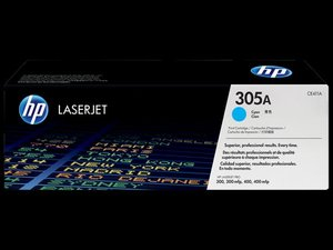 OEM HP 305A Cyan Laser Cartridge