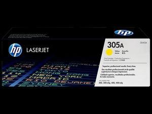 OEM HP 305A Yellow Laser Cartridge