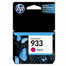 HP 933 Magenta Original Ink Cartridge