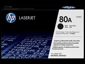 OEM HP 80A Black Laser Cartridge