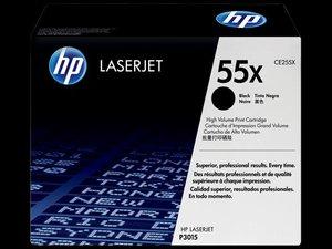 OEM HP 55X Black Laser Cartridge