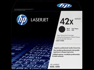 OEM HP 42X Black (High Yield) Laser Cartridge