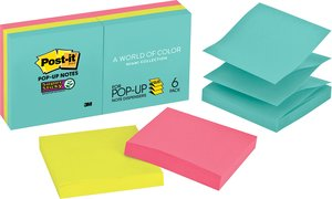 Post-it Notes Super Sticky Pop-up Miami Collection