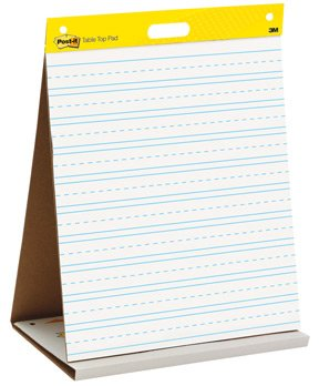 Primary Ruled Post-it Self-Stick Wall Pad