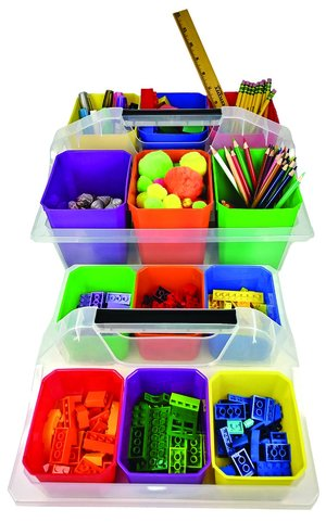 Small Organizer Caddy with Cups
