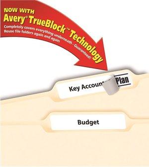 Kurtz Bros  - Avery® File Folder Labels with Trueblock