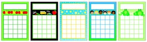 Catch Kids Being Good! Use For Attendance Charts, Individualized  Instruction, Behavioral Modification And A Variety Of Tasks That Need  Positive ...  Progress Chart For Kids