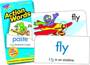 Skill Drill Flash Cards - Action Words