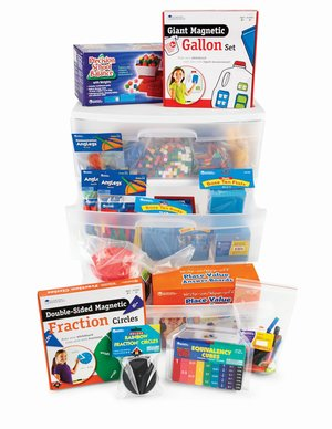 Learning Resources Math Common Core State Standards Kits Grade 4