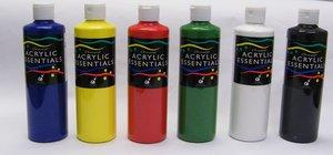 Chromacryl® Acrylic Essentials - 6 Pint Set (Primary)