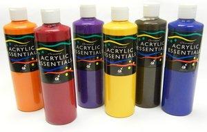 Chromacryl® Acrylic Essentials - 6 Pint Set (Secondary)