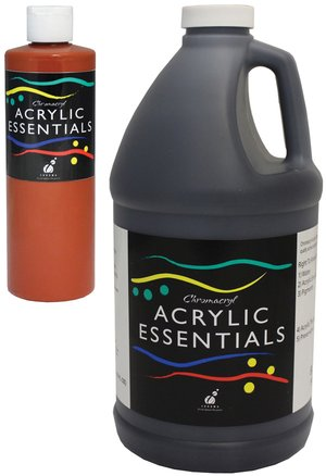 Chromacryl® Acrylic Essentials Half Gallon Bottles