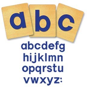 Ellison® SureCut™ Die Sets - Block Lowercase Letters