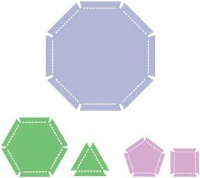 Ellison® SureCut™ Die Sets - Elastic Geometrics
