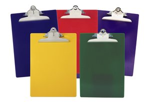 Recycled Plastic Clipboards