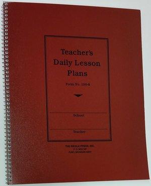 kurtz bros teachers daily lesson plan book