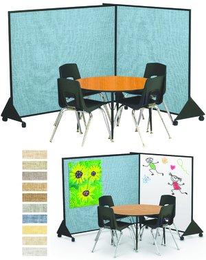 Kurtz Bros Preschool Dividers Display Panels