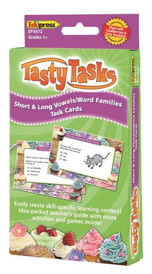 Language Arts Tasty Task Cards