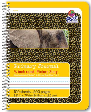 Pacon Spiral Bound Composition Books