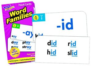 Skill Drill Flash Cards - Word Families