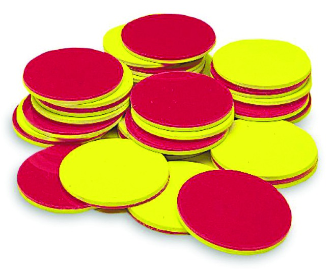 Set of 200 Math Counting Markers Magnetic Set Magnet Counter